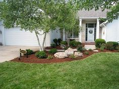 Red Oak Landscaping - rocks in landscaping