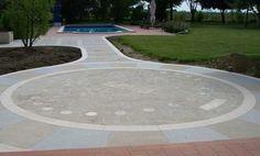 http://www.trachiteeuganea.com #floor in #trachyte #naturalstone