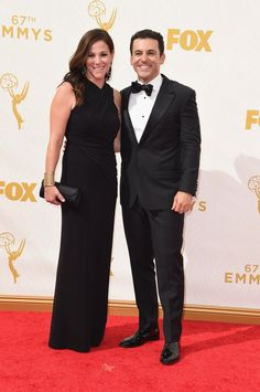 Pin for Later: Hollywood Couples Snuggle Up at the Emmy Awards Fred Savage and Jennifer Lynn Stone