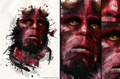 Hellboy, illustration