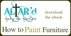 How to Paint Furniture {tips, tools & finding the perfect piece} - The Inspired Room