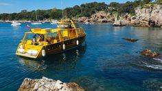 Juan-les-Pins to Cap d'Antibes Boat Trip