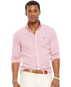 Polo Ralph Lauren Custom-Fit Poplin Shirt