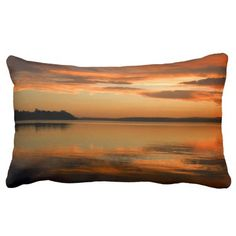 Afternoon Glow 1 Throw Pillows. Sanctuary Point Jervis Bay