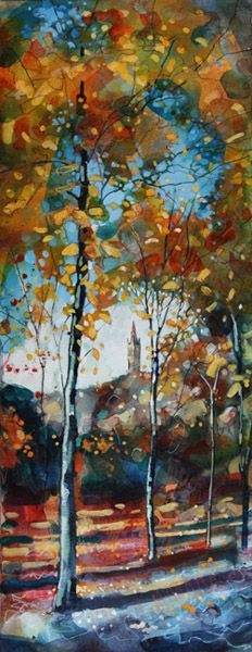 Autumn Leaves in Kelvingrove Park by Bryan Evans