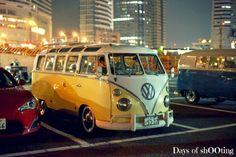Japan Bus yellow