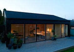 Low Cost Small House - Sigurd Larsen - Copenhagen - Exterior - Humble Homes