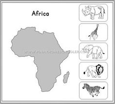 Montessori Animal Continents Activity Sheets by Pinay Homeschooler Shop Dear Zoo Activities, Continents Activities, 3 Year Old Activities, Kindergarten Activities, Educational Activities, Continents And Countries, Continents And Oceans, Memory Strategies, Geography For Kids
