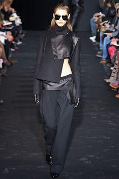 Costume National--minimal deconstruction