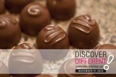 Discover the difference in Downtown London! Shopping Day, Chocolates, Ontario, London, Fruit, Schokolade, Chocolate, London England