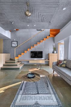 Staircase Design Modern, Home Stairs Design, Bungalow House Design, Home Room Design, Modern House Design, Home Interior Design, Living Room Designs, House Plans Design, Stair Design
