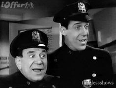 """Car 54 Where are You?"" Joe Ross, and a pre Munsters Fred Gwynne. This was one of my favorite shows when Elsie let us watch TV. Vintage Television, Old Shows, Cinema, My Childhood Memories, Summer Memories, Great Tv Shows, Vintage Tv, Classic Tv, My Guy"