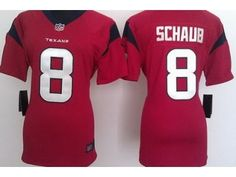 10 Best Nike Women nfl Houston Texans #8 Matt Schaub red jerseys  hot sale