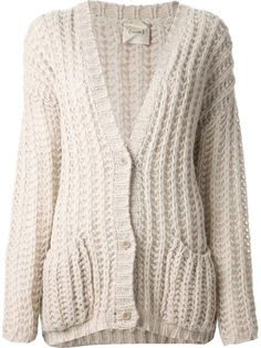 Shop Nude chunky knit cardigan in Zoe Fashion from the world's best independent boutiques at farfetch.com. Over 1000 designers from 60 boutiques in one website.