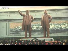 The new Statues of Kim Il Sung and Kim Jong Il on Mansu Hill - http://militaryfriendlycollegesanduniversities.com/the-new-statues-of-kim-il-sung-and-kim-jong-il-on-mansu-hill/