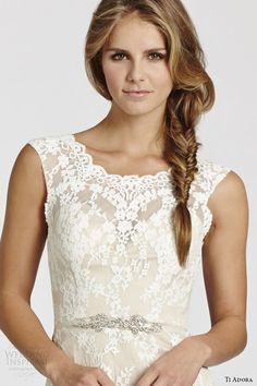 Ti Adora by Alvina Valenta Spring 2015 Wedding Dresses   Wedding Inspirasi