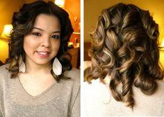 Wedding Hair tips and ideas: Hair Tutorial: Retro Waves
