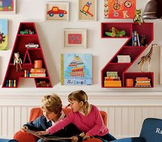 Kids Room Photo: Pottery Barn Kids Playroom Design, child playroom ideas, how to decorate a playroom, children playroom ideas ~ PRsarahevans Pottery Barn Kids, Deco Kids, Playroom Design, Playroom Ideas, Playroom Storage, Kid Playroom, Wall Storage, Nursery Design, Regal Design