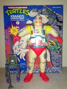Teenage Mutant Ninja Turtles KRANG'S Android Body (box   Bonus included) TMNT