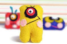 Cute mini monster dolls
