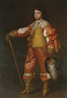 Portrait of Charles, Prince of Wales (1630-85), later King Charles II
