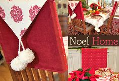 christmas chair back covers ireland bailey 40 best images decorated tutorial