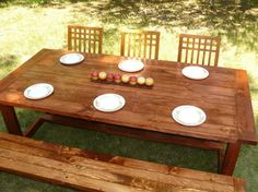 Dining Tables and Benches Made in MN. $1000+