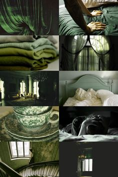 Slytherin Bedroom Aesthetic ; requested by anon