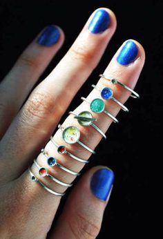 Solar System Rings ☄