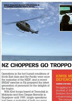 Kiwi pilot training. Published in issue #8, December 2005