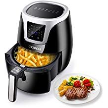 Crzdeal Air Fryer Xl Air Cooker 8 In 1 Electric Oil Free Hot Air Fryers With Touch Scre Farberware Pressure Cooker Cookware Set Stainless Steel Kitchenware Set