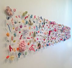 kleidersachen — Helle Jorgensen, The Entropy Collection Sculptures Céramiques, Soft Sculpture, Design Textile, Textile Art, Crochet Art, Art Plastique, Oeuvre D'art, Installation Art, Art Inspo