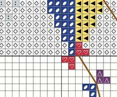 Cute Rainbow Kite Easy Beginners Cross Stitch by FuzzyFoxDesigns