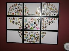 Awesome way to display your Disney pins! Also Odyssey of the Mind pins