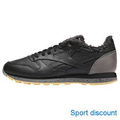 Мужские утепленные кроссовки Reebok Classic Leather Sherpa Low CN1817 •  Утепленные кроссовки для повседневной носки классического 932a775660e