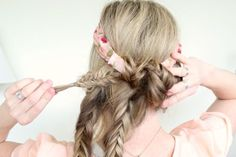 Wrapped-Fishtail-Braids