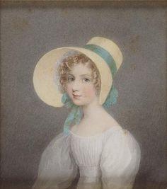 Adam Buck, Portrait of a girl (Louisa Churchill?), 1830, National Gallery of Victoria, Melbourne