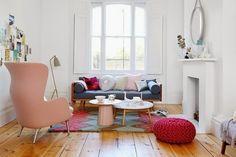 24 Ideias para a sala com mobiliário em cores pastel ~ DECORAÇÃO E IDEIAS - design, mobiliário, casa e jardim