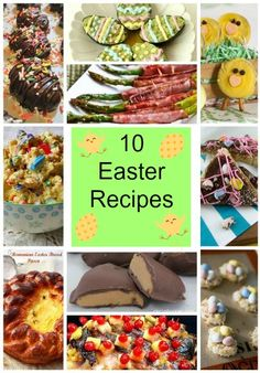 10 Delicious Easter Recipes   Easter Desserts   Easter Dinner   Easter Side Dishes
