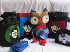 OMG I love these Harry Potter Puppet Pals craft storage bins!
