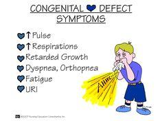 Congenital Heart Defect Symptoms