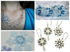 Now Trending: Winter Snowflake Jewelry - guest post on @CraftFoxes!
