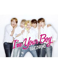 K2POP - [JAPAN ALBUM] 샤이니 (SHINEE) - VOL.3 [I'M YOUR BOY ] (CD + DVD) B VER. (FIRST LIMITED EDITION)
