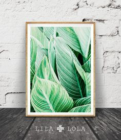 Print 144 is a contemporary downloadable print, featuring a tropical plant leaf pattern with a subtle woven texture throughout.  Its as easy as 1, 2,