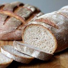Light rye bread, one of the best you will ever eat