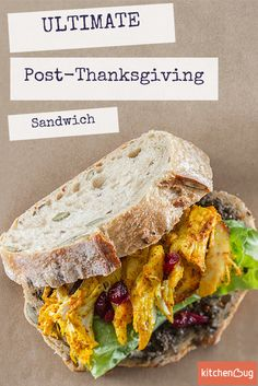 You only need a few ingredients for this easy and delicious post-Thanksgiving food hack! Transform your turkey into the perfect sandwich that everyone will love. Keep your kids happy by letting them make their own.
