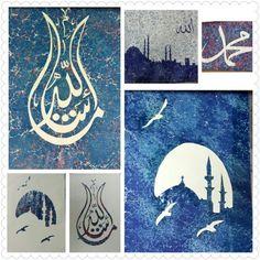 Akkase ebru Design, Fractals, Islamic Art, Painting, Illusions, Art, Ebru Art, Abstract, Paper Art