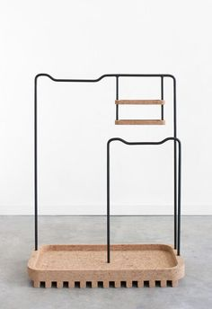Cork Clothing Rack - Another Perspective curated by COTTO Retail Fixtures, Store Fixtures, Display Design, Store Design, Modern Furniture, Furniture Design, Retail Shop, Retail Design, Bathroom Accessories
