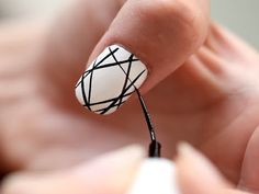 {VIDEO! ] #DIY Manicure: Dream Catcher Nails by LEAFtv