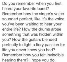 """What was your first song? Mine was the """"The Kill"""""""